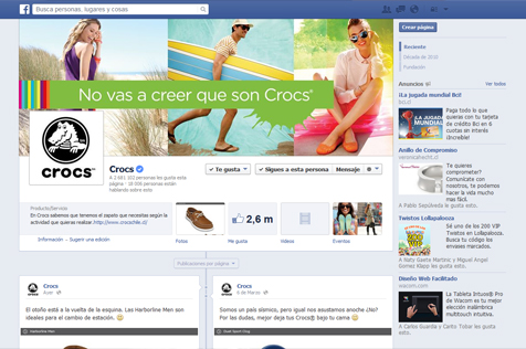 Crocs Chile - Facebook