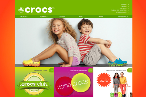 Crocs Chile - Web