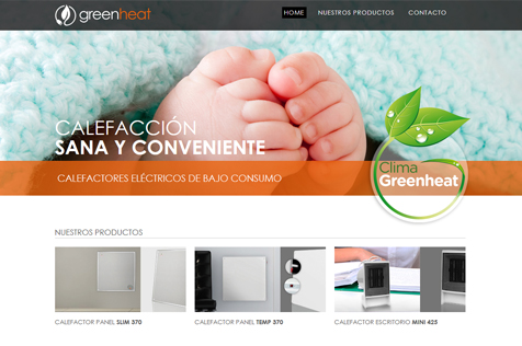 Greenheat - Web