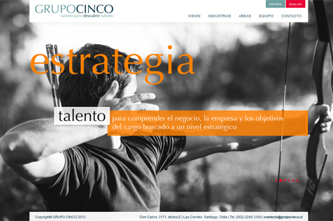 Grupo Cinco - Web